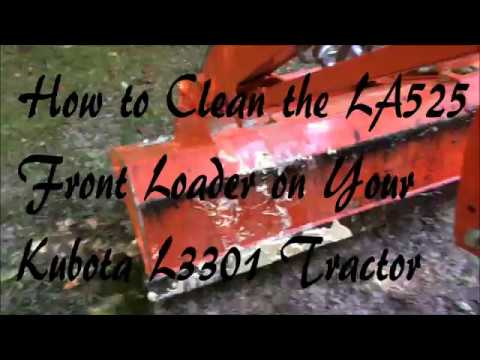 how to clean front loader
