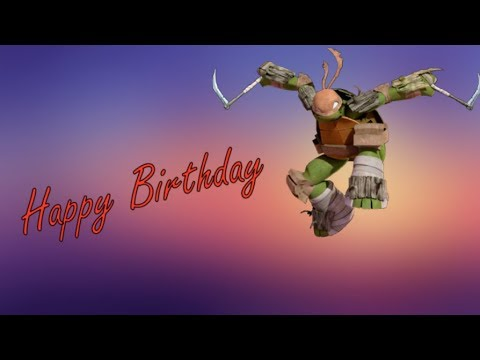 TMNT 2012 - No Place I'd Rather Be (Happy Late Birthday Mikey_Lover15)
