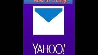 how to change yahoo password 2017