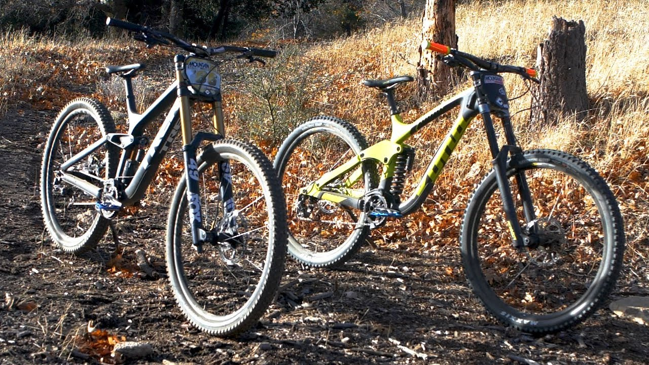 e61f7a76fd8 Trek vs Kona Downhill 29er Shoot Out - Mountain Bike Action Magazine ...