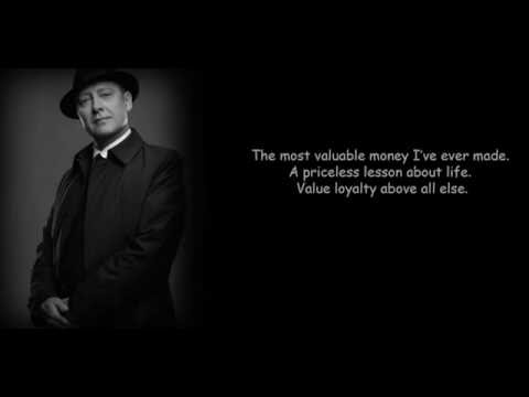 Reddington quote: summer job scene: Value, loyalty above all else [The Blacklist 2]