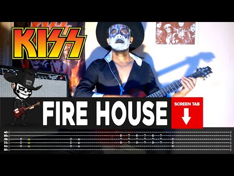Kiss - Firehouse (Guitar Cover by Masuka W/Tab)