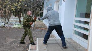 «С.П.А.С.»   Прикладной рукопашный бой   Улица 2015 год. (S.P.A.S. street fighting)