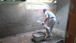 Tynki ręczne tradycyjne cementowo wapienne