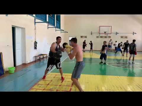 Работа на лапах. Дилшод Рузметов. Coach Farruh Kilichev. 18.
