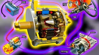 Как устроен генератор автомобильный. Чем отличается генератор переменного тока от постоянного
