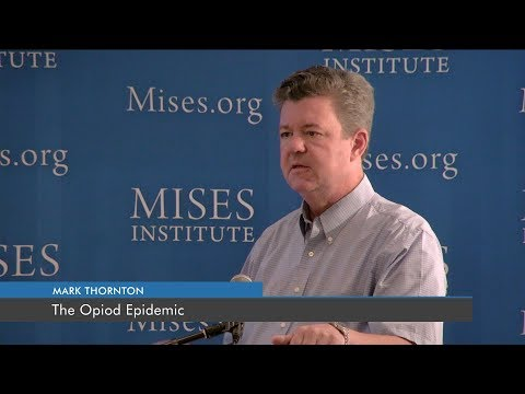 The Opioid Epidemic | Mark Thornton