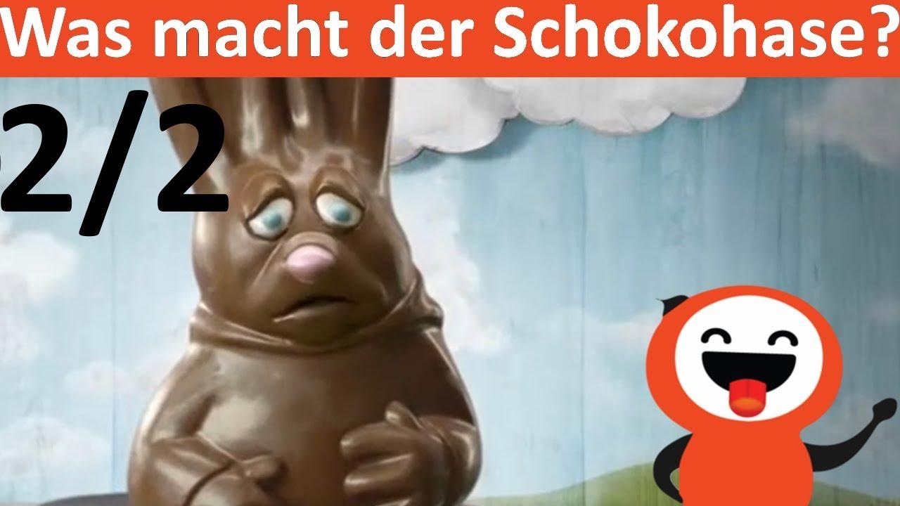 Schokohase Osterhase Schokolade Ostern 2018 Lustige Videos Youtube