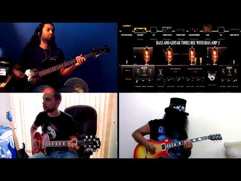 Locomotive Guns n' Roses | Use Your Illusion | Guitar and Bass Tone | Bias Amp 2