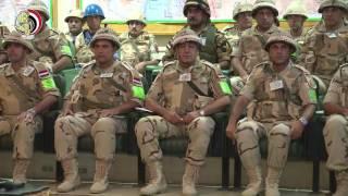 بالفيديو..وزير الدفاع: لن نتهاون فى حربنا على الإرهاب لتطهير الوطن