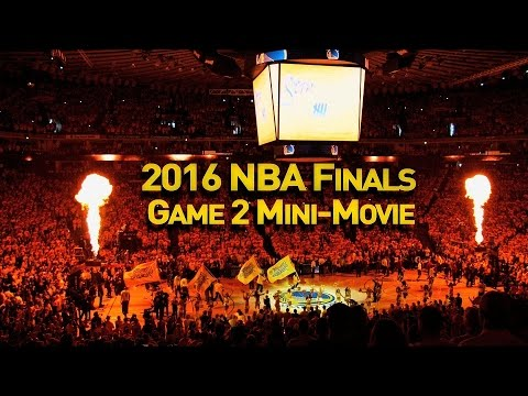 2016 NBA Finals Game 2 Mini-Movie