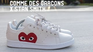 HOW TO Custom Comme Des Garçons x Stan Smith