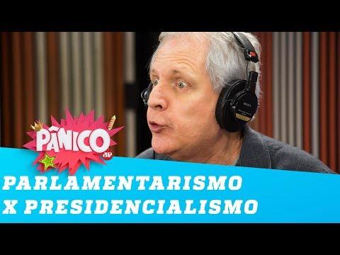 Augusto Nunes defende o parlamentarismo no Brasil