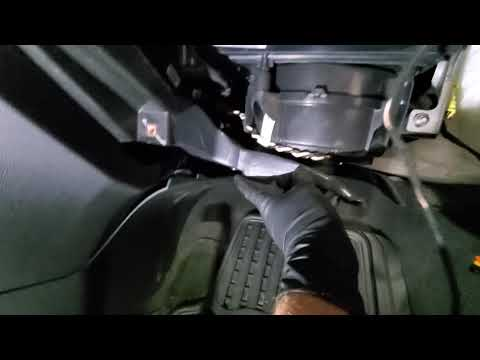 How to replace blower motor on Buick Verano and how to replace cabin air filter