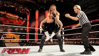 Ziggler vs. Ambrose - WWE World Heavyweight Championship Tournament Quarterfinal: Raw, Nov. 16, 2015