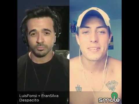 Luis fonsi y fran silva , crack
