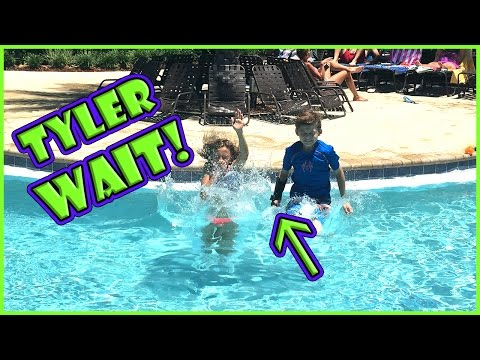 TYLER GETS HIS BRACE WET! | WE PLAY PIE FACE | We Are The Davises
