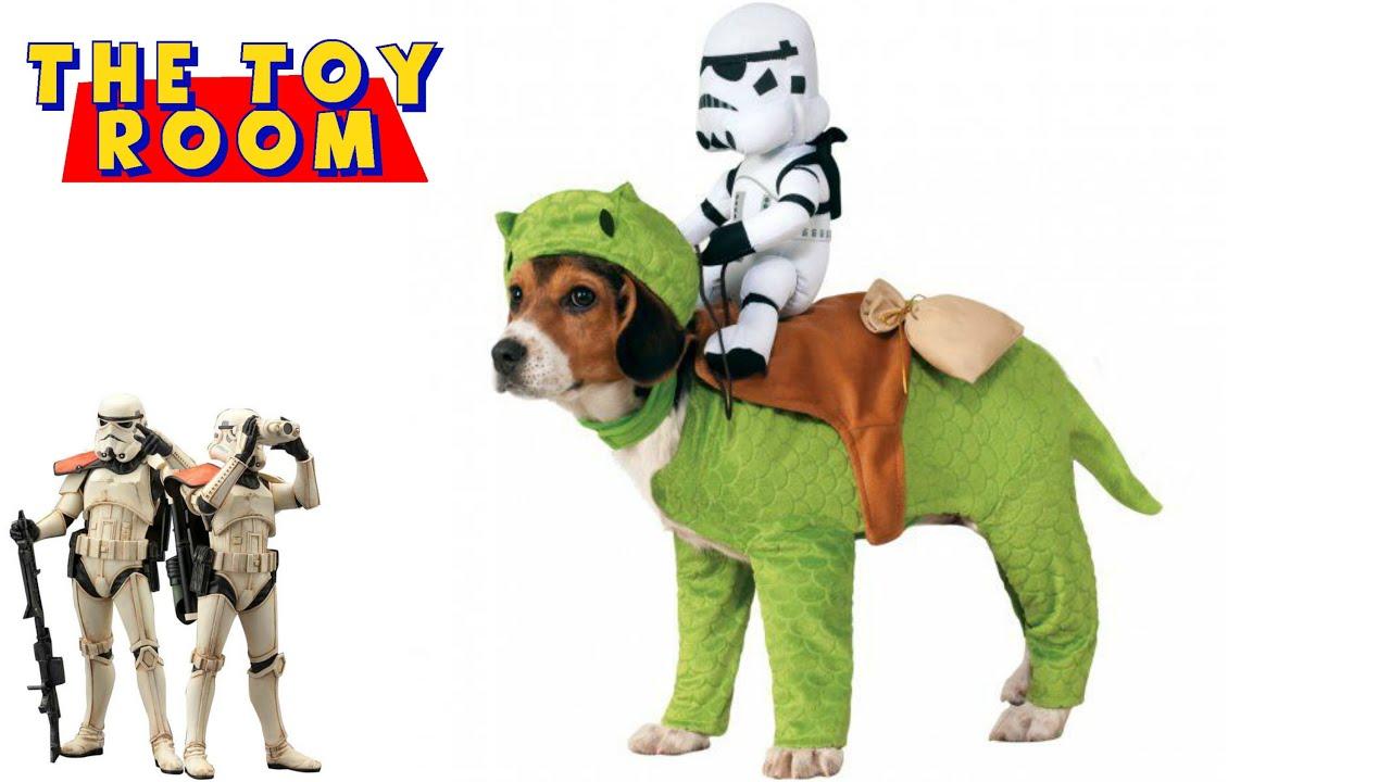 star wars sandtrooper dewback dog halloween costume unboxing review