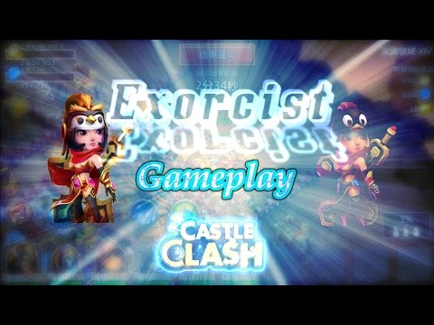 Castle Clash Exorcist Gameplay ( Tencent Server)