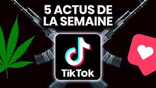 Filtres dangereux sur Instagram, cannabis bientôt légalisé, TikTok, Chili... 5 actus de la semaine