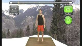 Wii Workouts - My Fitness Coach 2 - Quick Workout