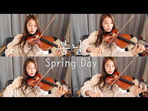 BTS(방탄소년단)_Spring Day(봄날) VIOLIN COVER