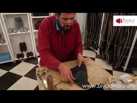 Artisanat Marocain - Exotic Leather - Galuchat -Shagreen Slippers -babouche prestige