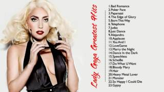 top 20 lady gaga greatest hits best of lady gaga playlist cover channel