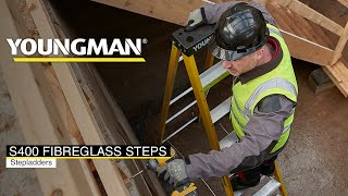 50,000 Reasons to Choose Youngman S400 Fibreglass Step Ladders