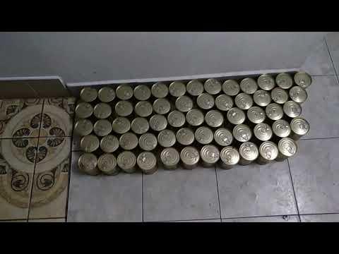 Закатка жестяных банок, изготовление домашней тушёнки