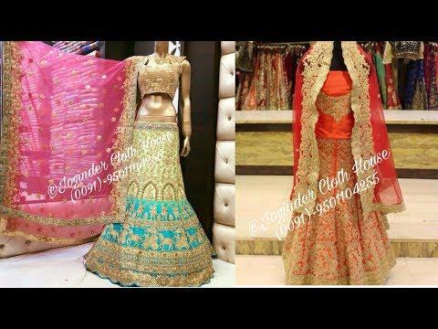 Designer Wedding Lehengas | Wedding Suits | Joginder Cloth House