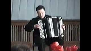 J.S.Bach. Prelude & Fugue No.18 in gis-moll (BWV 887) WTC vol.II- Alexander Orlov - bajan (2001)