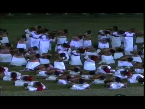 Cultural Performance by 600 Samoan Students