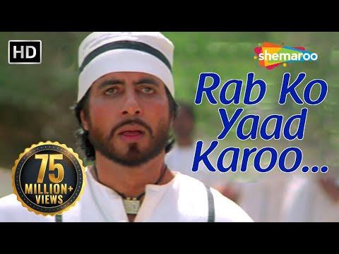 Rab Ko Yaad Karoon - Amitabh Bachchan - Sridevi - Khuda Gawah - Bollywood SuperHit Songs