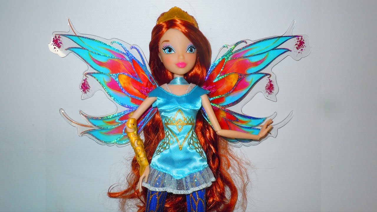 Winx Club Bloom Bloomix Power Doll Review Youtube