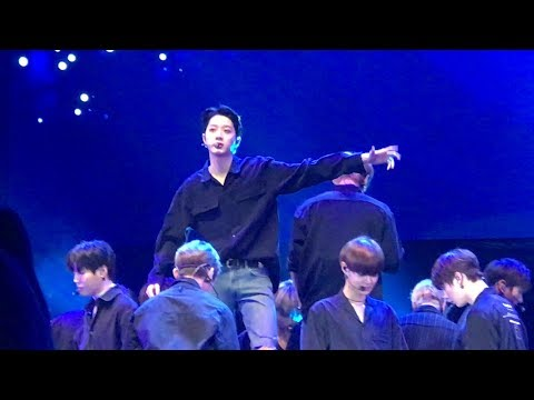 [4K] 180121 Wanna One (워너원) In Jakarta - Beautiful (뷰티풀) (Guanlin Focus)