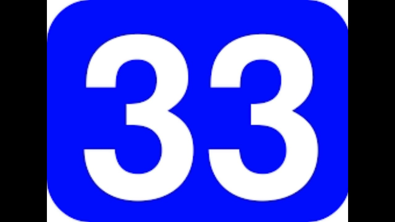 33 >> Spiritual Meaning Of Number 333 3333 33 3 Youtube