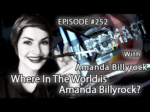 Anarchast Ep. 252 Amanda Billyrock: Where In The World is Amanda Billyrock?