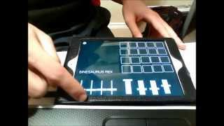 Sine Divider Pure Data and MobMuPlat