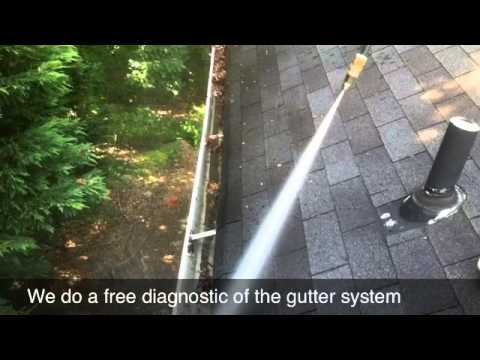 Pressure Washing And Gutter Cleaning Milton Ga Youtube