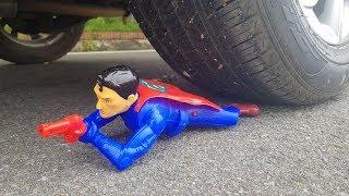 EXPERIMENT: CAR vs SUPERMAN