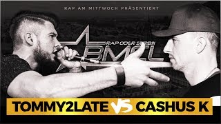 BMCL RAP BATTLE: TOMMY2LATE VS CASHUS K (BATTLEMANIA CHAMPIONSLEAGUE)