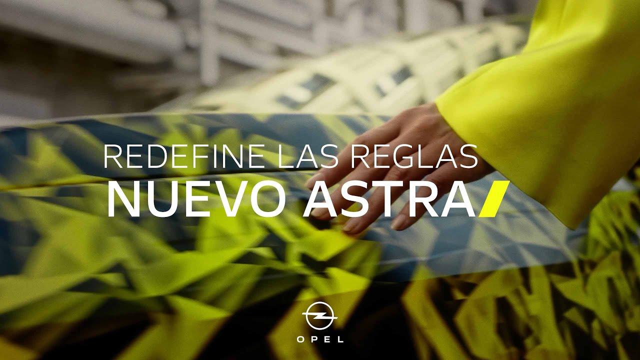 Nuevo Opel Astra: Redefine las reglas