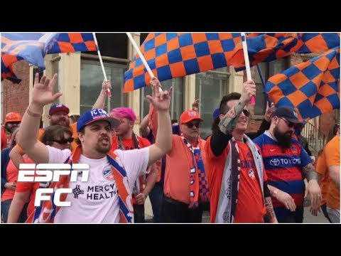 What it's like to experience the FC Cincinnati march to the stadium | Major League Soccer