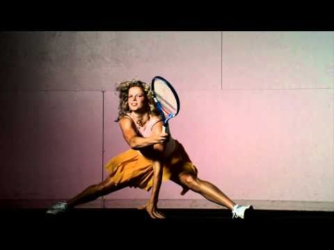 Slow motion video of Kim Clijsters for The New York Times Magazine shot by Dewey Nicks