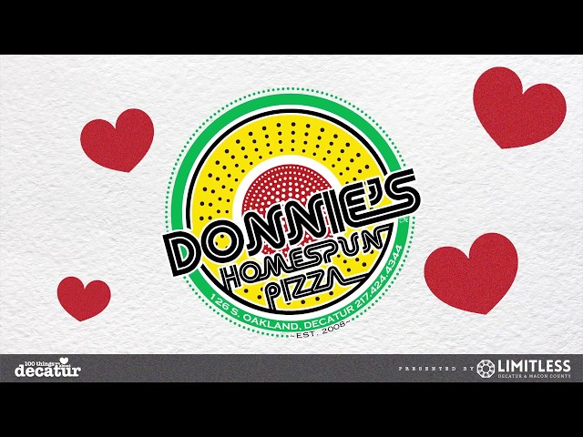 100 Things - Donnie's Homespun Pizza