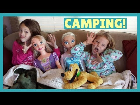 The Girls Go Camping with Grandparents