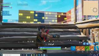fortnite trying to get a win in ONE SHOT live