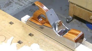 Making single blade dovetail infill plane , part 2