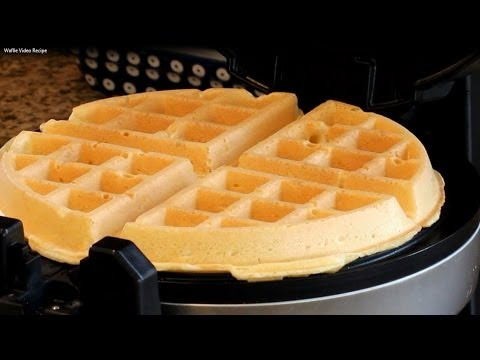 Make Easy Homemade Belgian Waffle Recipe Images